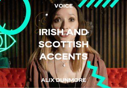 irish and scottish accents classes