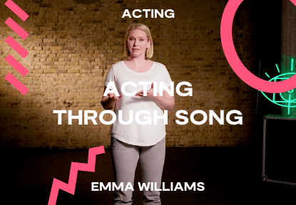 acting through song course