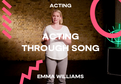 acting through song classes