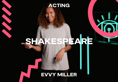 shakespeare acting course evvy miller