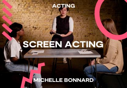screen acting michelle bonnard