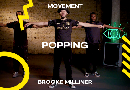 popping dancing course