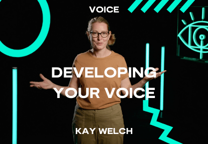 developing your voice course